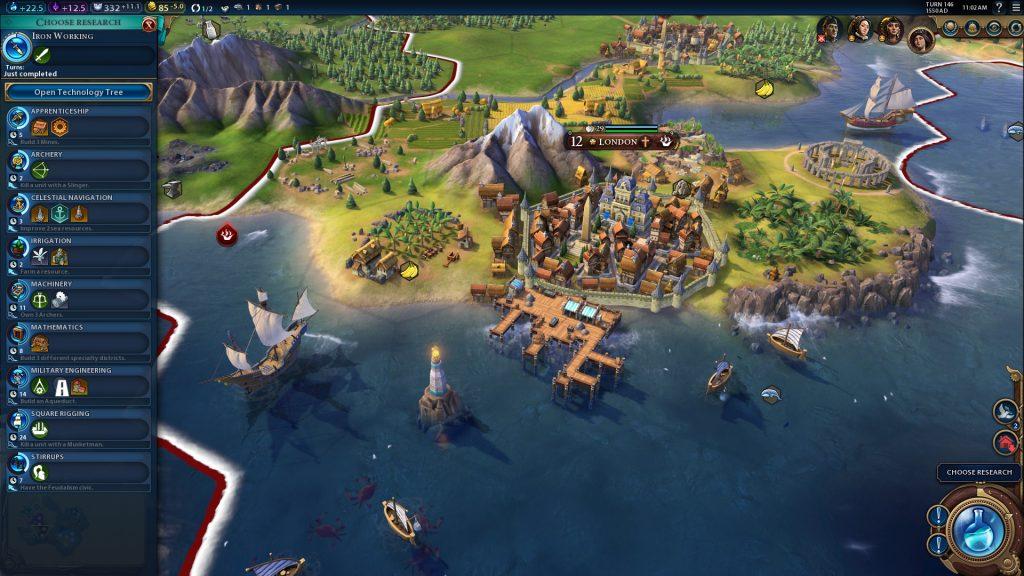 Ville dans Civilization VI
