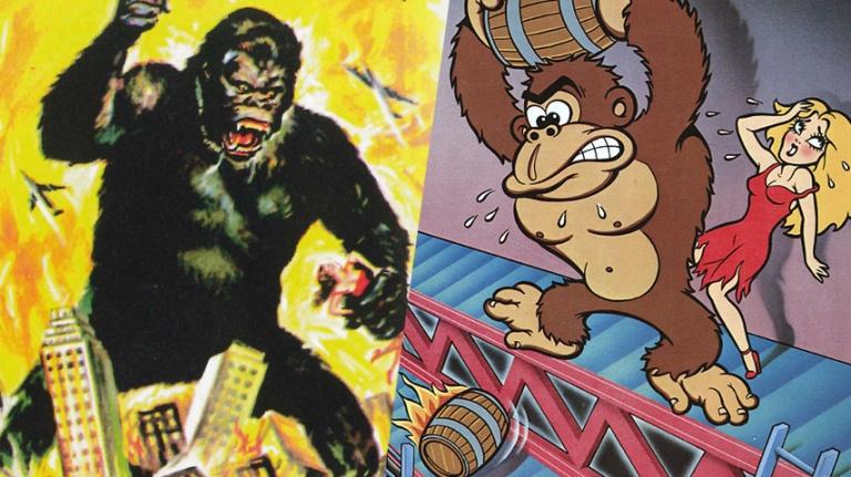 King Kong et Donkey Kong