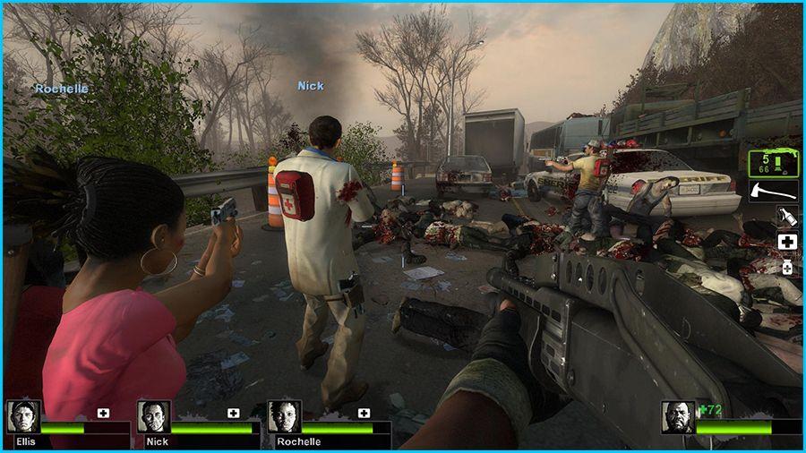 Image de Left 4 Dead 2, un jeu multijoueur coopératif